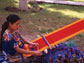 Guatemalan woman making a textile