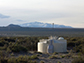 one of the 1,660 stations of the surface detector of the Pierre Auger Observatory