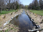 stream restoration project in Baltimore, Maryland