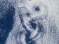 von Karman vortices in clouds