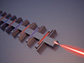 chip-mounted terahertz laser