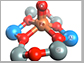 active site of an iron-containing zeolite