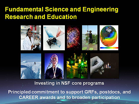 NSF Director Subra Suresh, Integrative Graduate Education Research