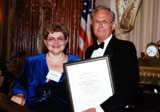 Annette Berkovits and Michael Ambrosino