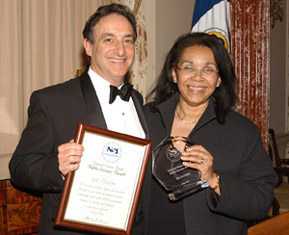 Picture of Ira Flatow and Shirley Malcom