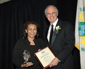 Alan Alda and Shirley Malcom