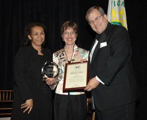 Bonnie VanDorn, Walter R.T. Witschey and Shirley Malcom