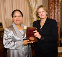 Image of Shirley Ann Jackson and Kathryn D. Sullivan