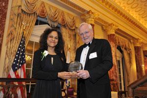 Image of Nalini M. Nadkarni and Ray Bowen
