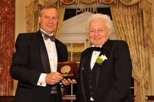 Image of Bud Peterson and Leon Lederman