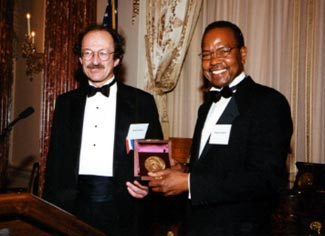 Harold Varmus and George Langford