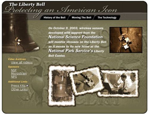 Cover art and link to The Liberty Bell: Protecting An American Icon Web site