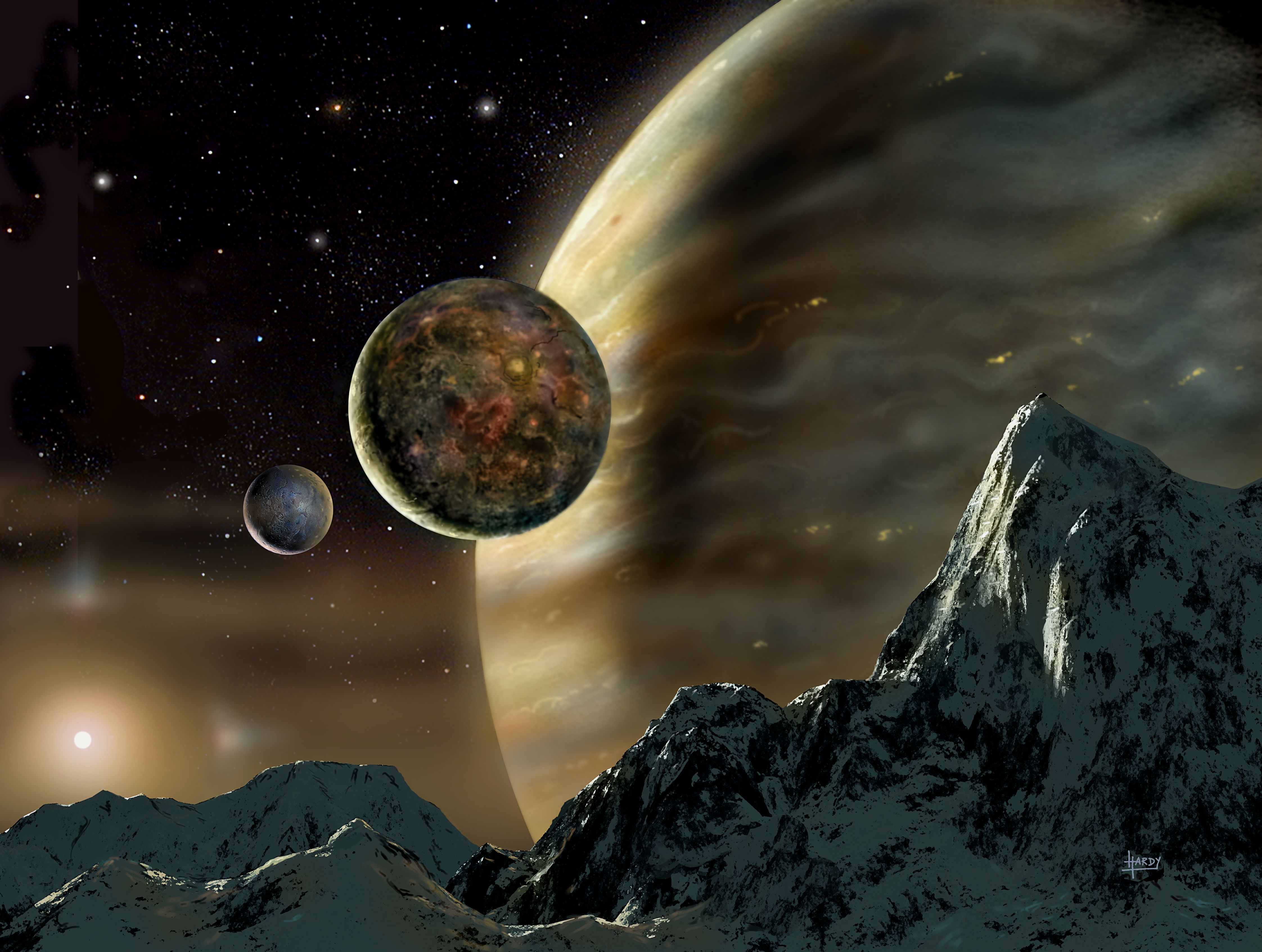 NSF - OLPA - PR 03-73: Scientists Discover Planetary ...