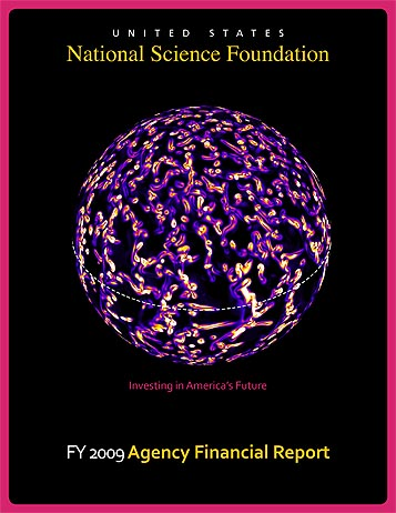 National Science Foundation FY 2008 Annual Financial Report Cover